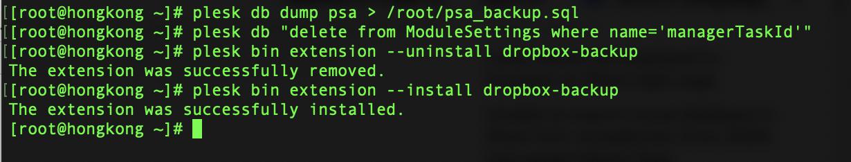 重装dropbox backup解决问题