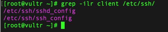 grep -l 参数示例