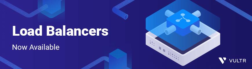 vultr 推出 load balancer 服务